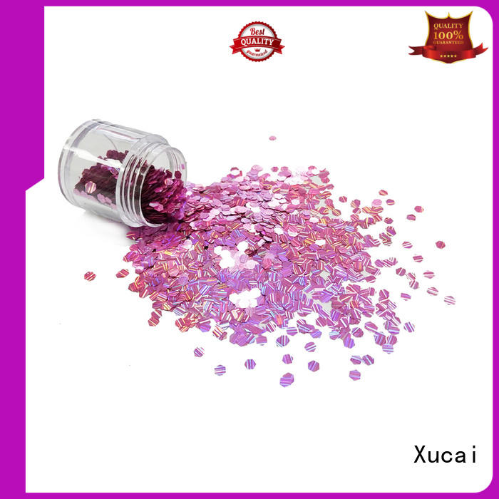 Xucai gold holographic powder supplier for arts