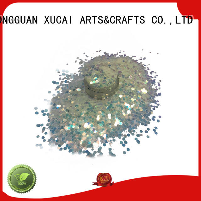 Xucai chunky glitter makeup price for cosmetic