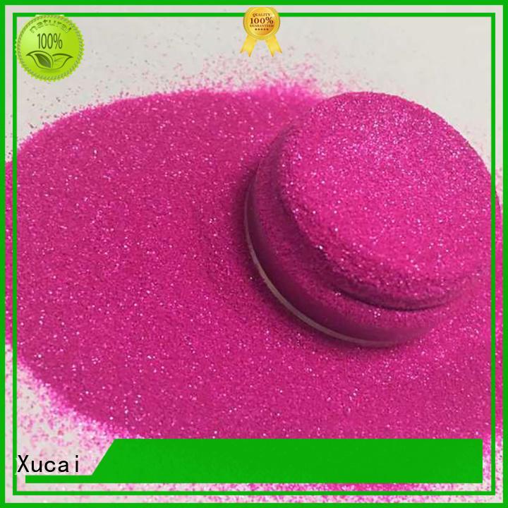Xucai nontoxic glitter manufacturer supplier for christmas craft decoration