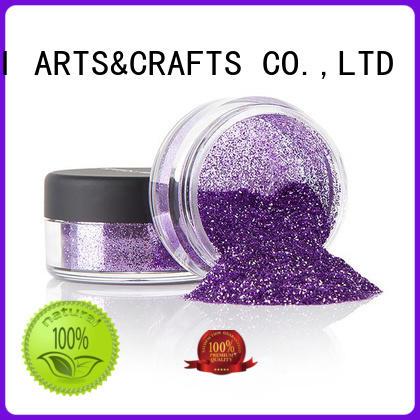 Xucai multi color metal glitter manufacturer for glass