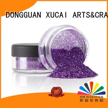 Xucai heavy glitter powder manufacturer for makeup