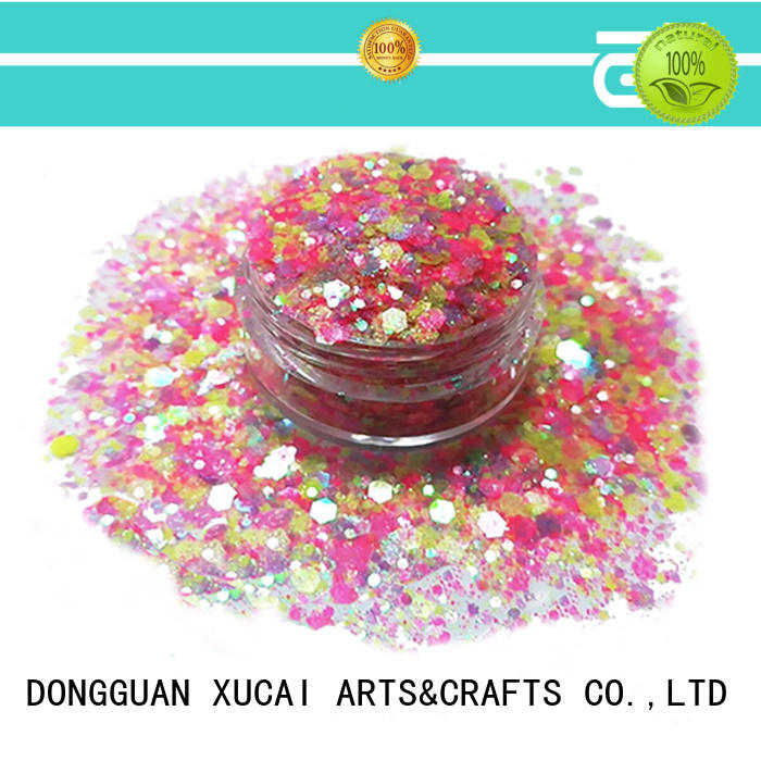XUCAI superior quality festival face glitter supplier for nail decoration