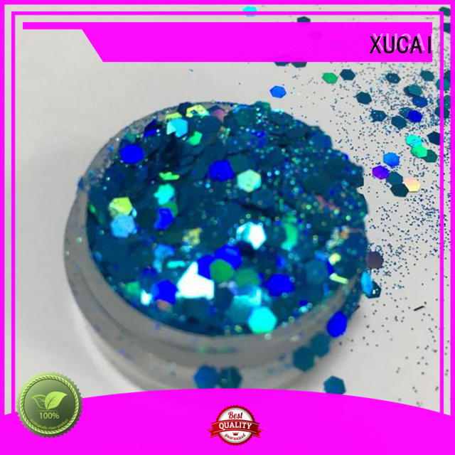 XUCAI Brand chunky selling holographic neon glitter