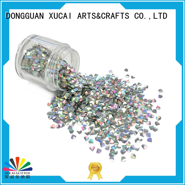 XUCAI hot sale Biodegradable glitter manufacturer for art