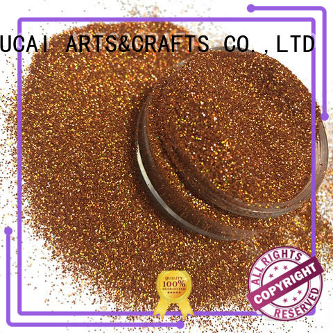 Xucai holographic glitter powder manufacturer for crafts