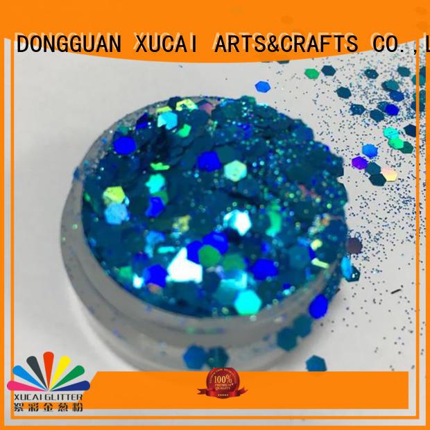 Xucai cosmetic neon glitter powder for craft