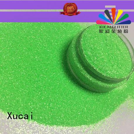 Xucai neon glitter powder maker for body