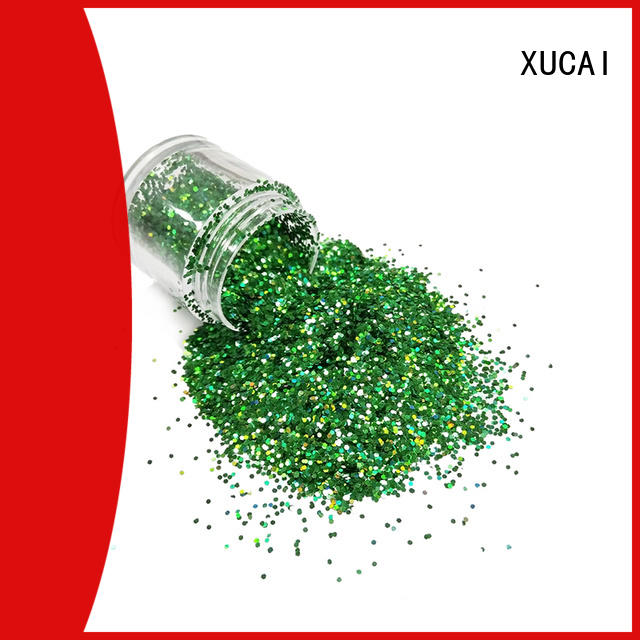 XUCAI customized fine holographic glitter manufacturer for christmas decoration