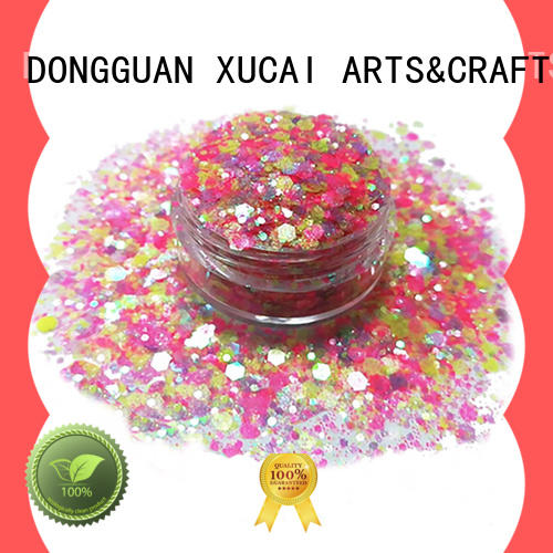 Xucai multi color where can i buy glitter for face and body decoration