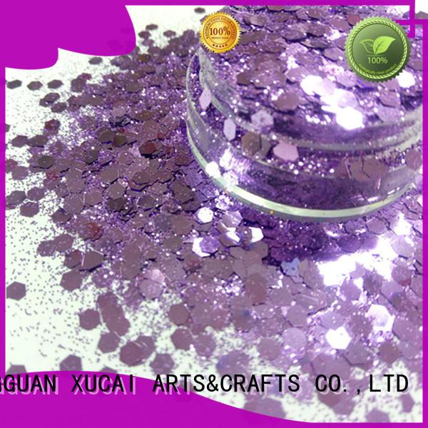 nails face chunky glitter vans XUCAI Brand