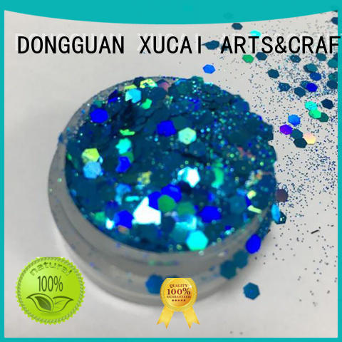 decoration yellow cosmetic glitter XUCAI Brand