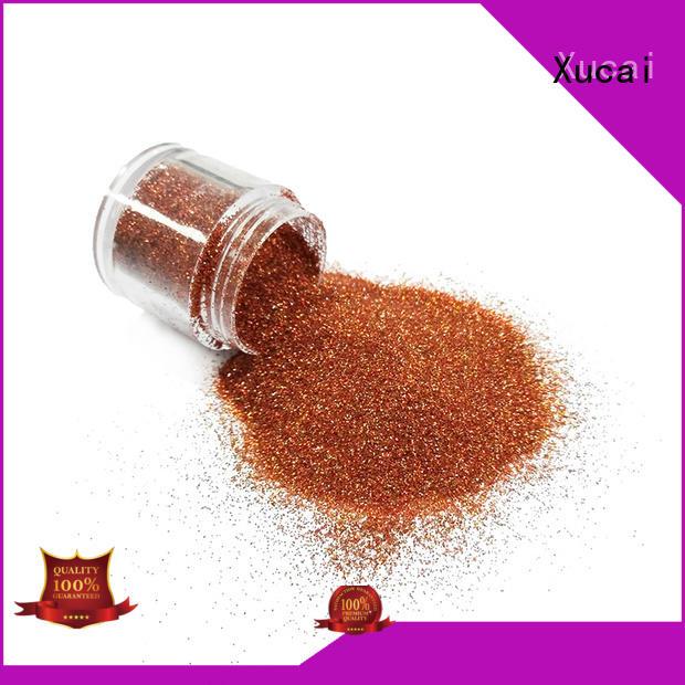 Xucai fashion metallic glitter manufacturer for glass