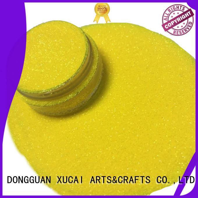 arts body pet neon glitter selling XUCAI Brand