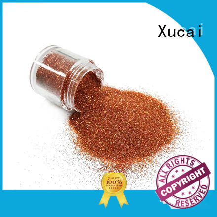 Xucai heavy metallic glitter with pe inner pack for paper printing
