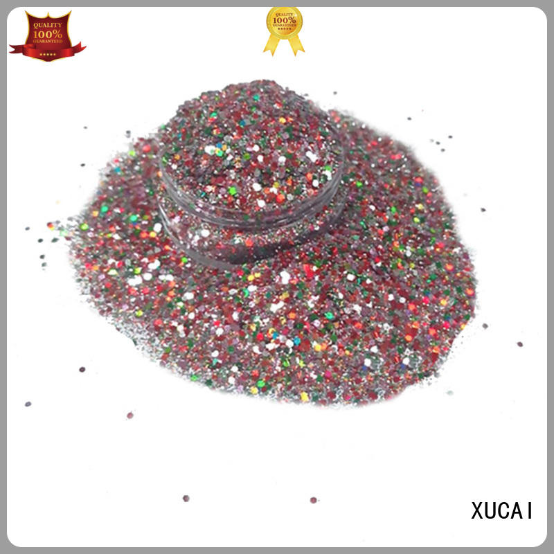 XUCAI Brand holographic art cosmetic glitter pink supplier