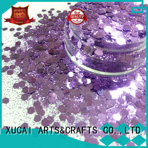 professional craft glitter superior quality for cosmetic XUCAI
