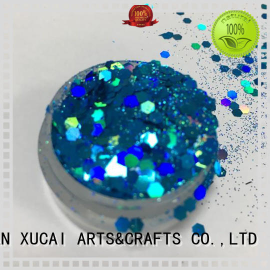 neon glitter powder for body XUCAI
