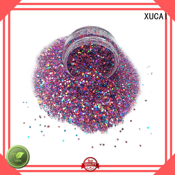 professional silver glitter superior quality for face and body decoration XUCAI
