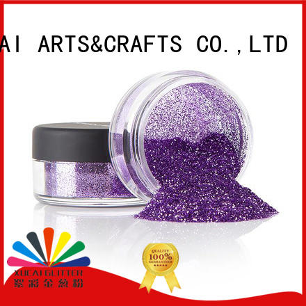 Xucai heavy craft glitter bulk for leather