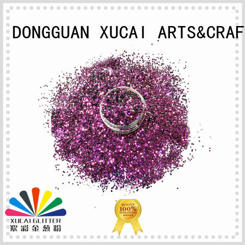Xucai glow in the dark glitter for sale for art