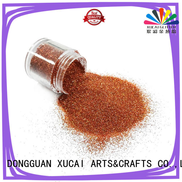 Xucai metal glitter manufacturer for leather