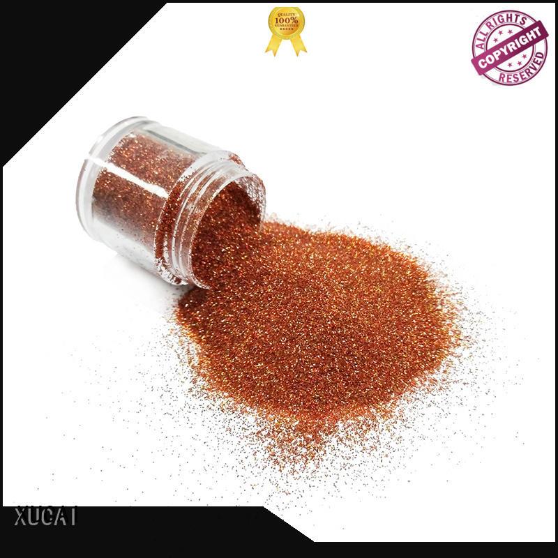 ployester metallic bulk cosmetic metallic glitters XUCAI