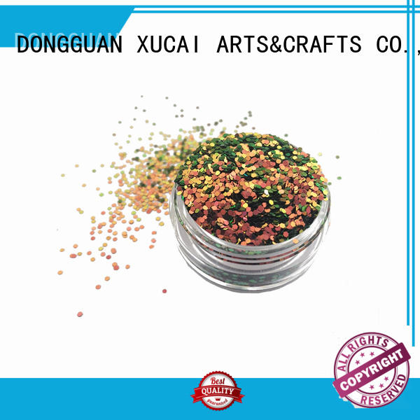 Xucai various size uv glitter for craft