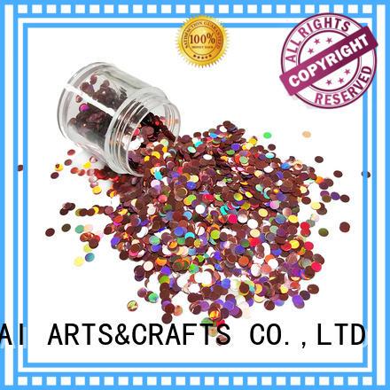 color super dot holographic glitter colors XUCAI