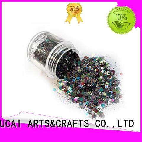 XUCAI Brand face metallic glitters powder factory