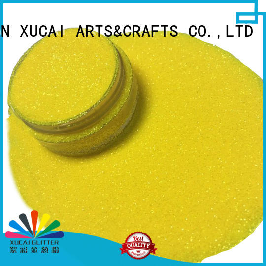 XUCAI different sizes rainbow glitters manufacturer for christmas crafts