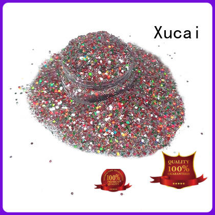 Xucai holographic glitter manufacturer maker for nail