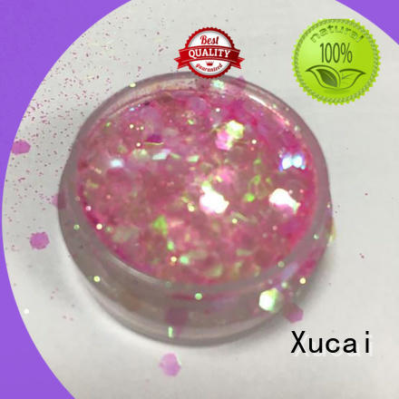 Xucai chunky glitter manufacturer for cosmetic