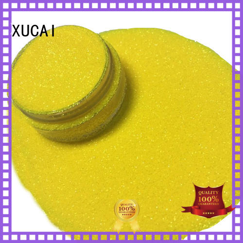 colorful glitter factory manufacturer for glass XUCAI