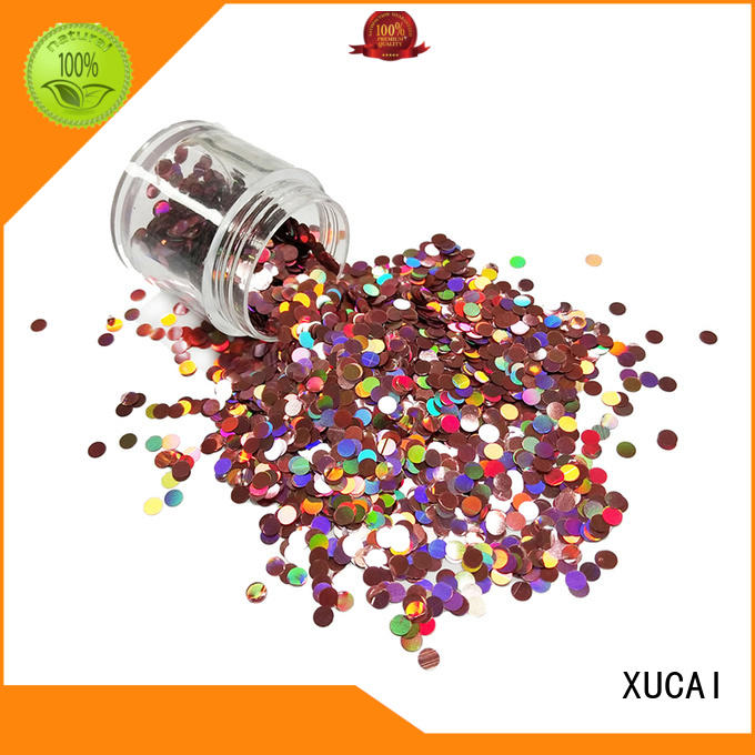 XUCAI moon glitter suppliers supplier for christmas decoration