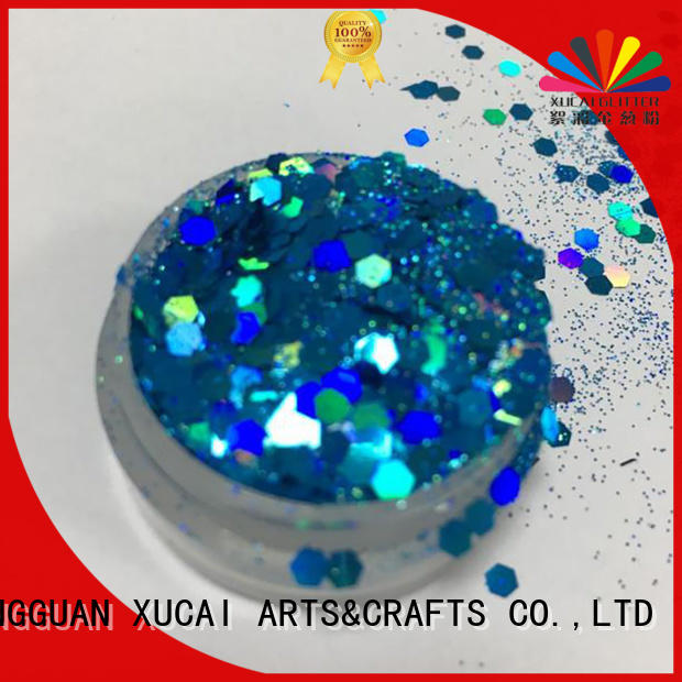 Xucai neon fluorescent glitter type for craft