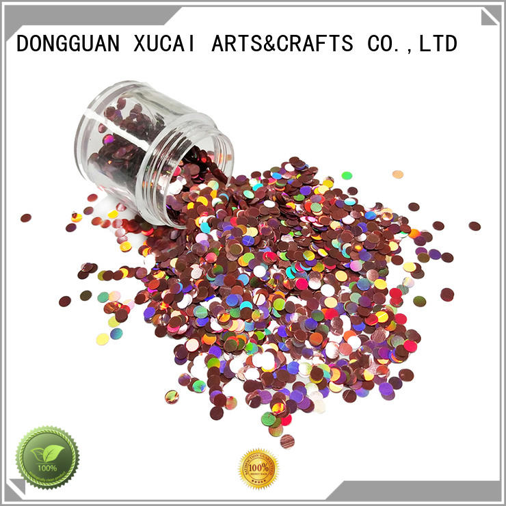 popular friendly color festival XUCAI Brand holographic glitter supplier