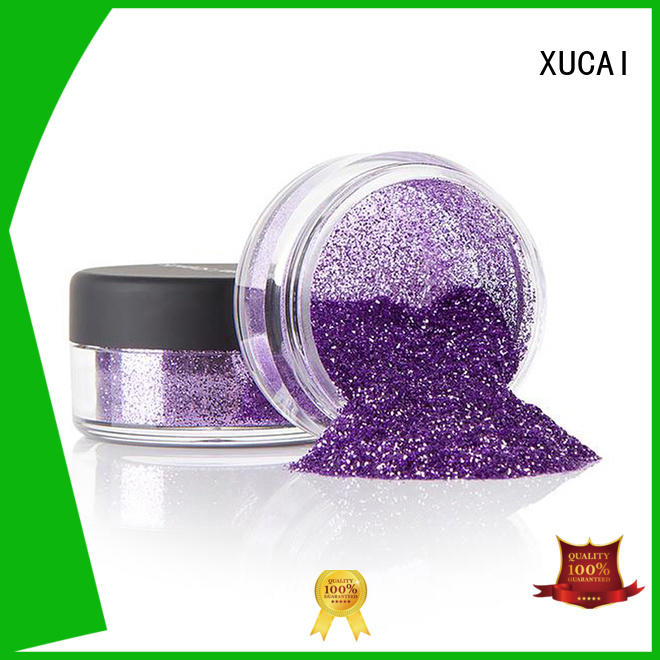multicolor metallic glitters powder cosmetic XUCAI company