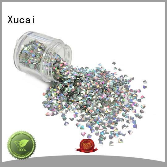 Xucai various shape color shifting glitter for makeup