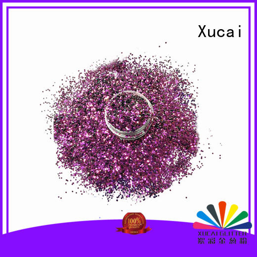 polyester color shifting glitter powder for makeup