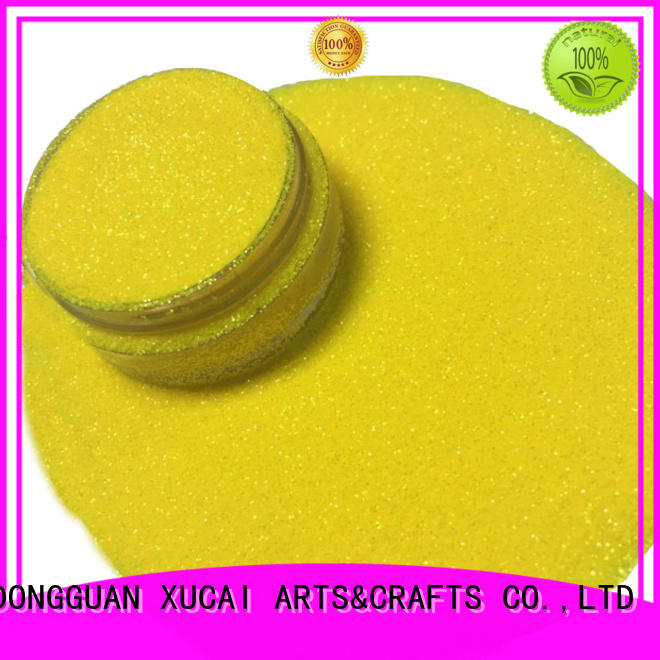 Xucai colorful iridescent face glitter low price for screen printing industry
