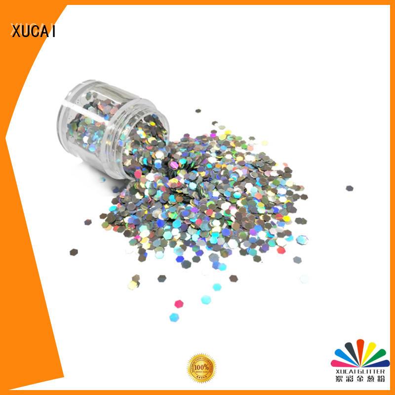 XUCAI Brand selling holographic nail powder christmas supplier