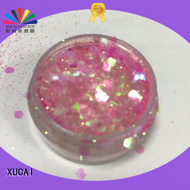 XUCAI pet chunky face glitter powder for cosmetic
