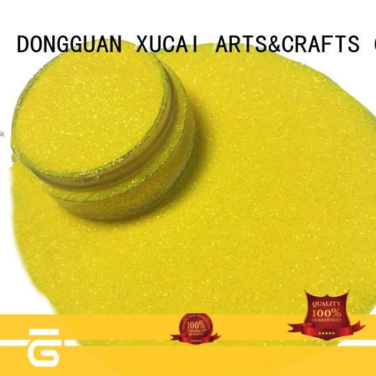 Xucai polyester glitter manufacturer powder for body