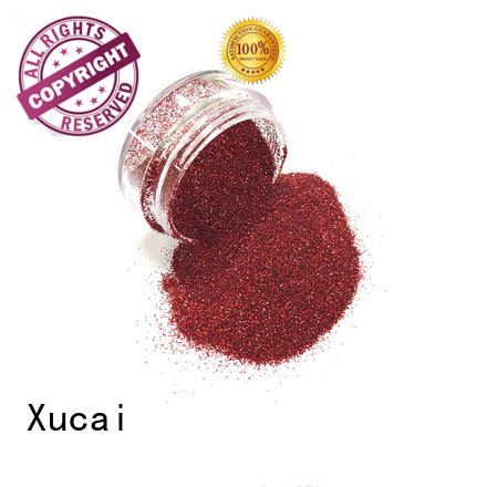 Xucai solvent resistant glitters manufacturer for crafts