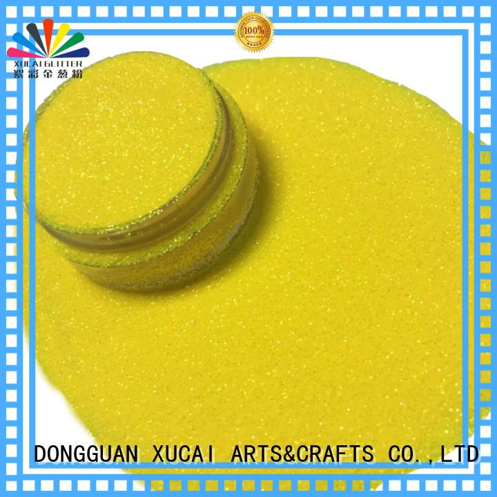 cosmetic glitter polyester chunky Warranty XUCAI