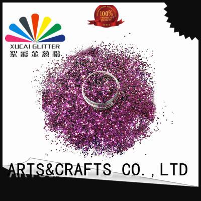 Xucai uv glitter factory price for art