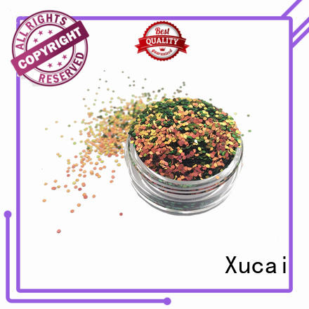 Xucai color shifting glitter supplier for craft