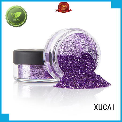 XUCAI eco friendly metallic glitter heat resistance for fabric