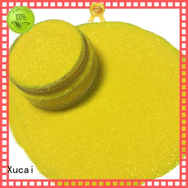 Xucai Iridescent glitter manufacturer for glass