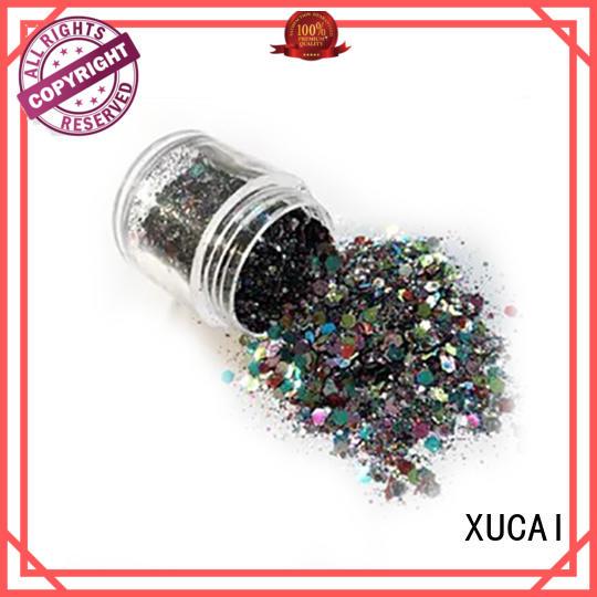 XUCAI eco friendly metallic glitters powder for fabric